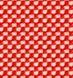 poppy red/elfenbein